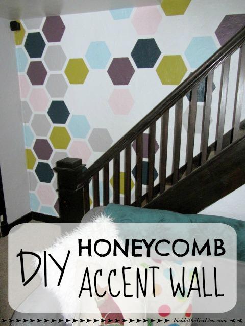 DIY Honeycomb Accent Wall