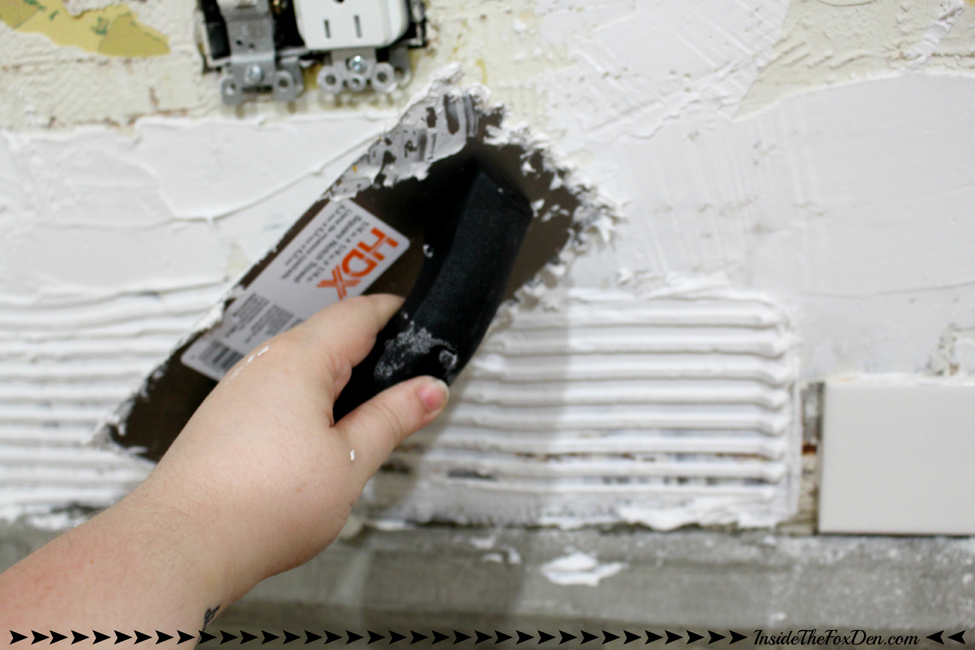 How To Install A Subway Tile Backsplash Part 1