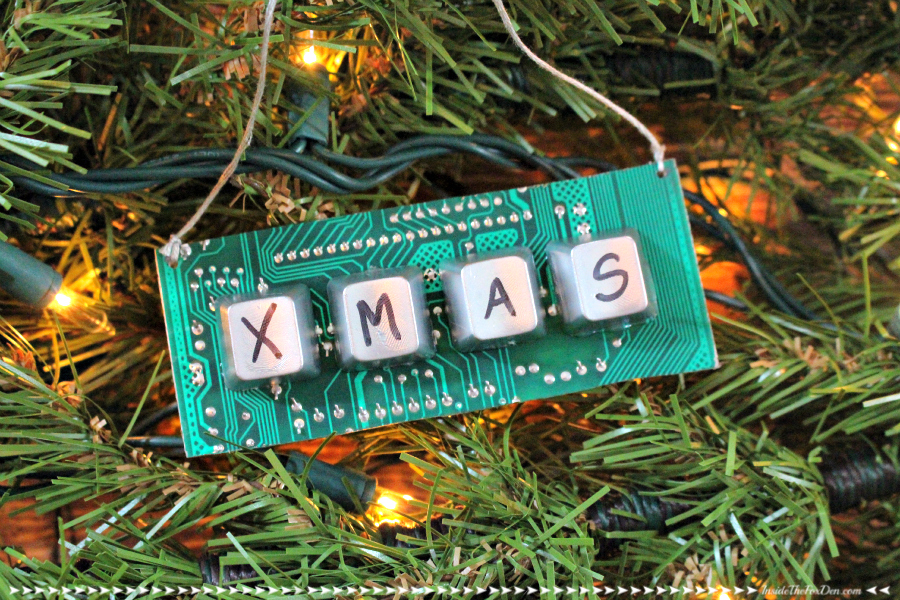 Diy Computer Parts Ornament