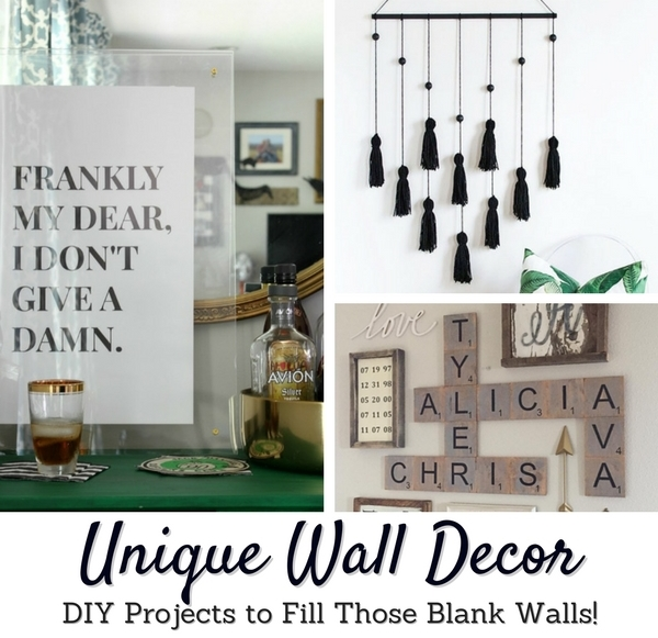 Unique Diy Wall Decor Projects Inside The Fox Den