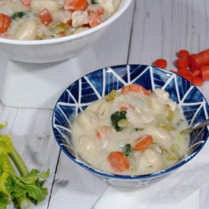 Dairy-Free Chicken & Gnocchi Soup   Pinterest Challenge