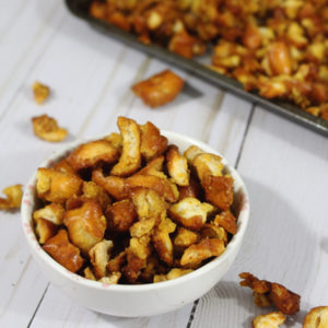 Copycat Honey Mustard & Onion Pretzels   Pinterest Challenge