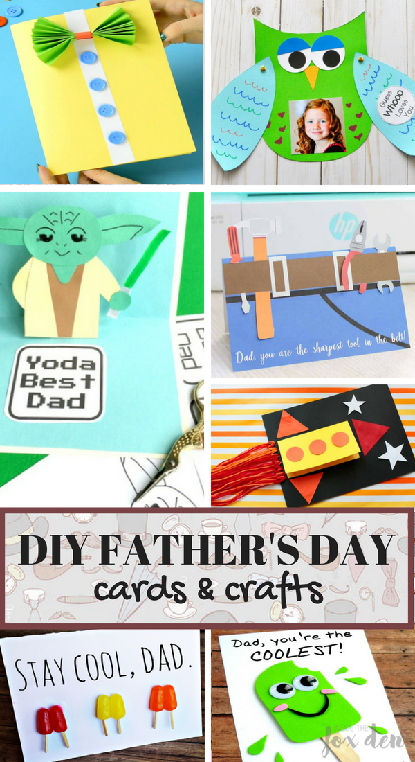 diy father s day cards crafts