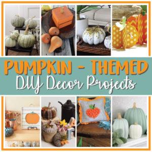 Pumpkin Themed DIY Decor Projects