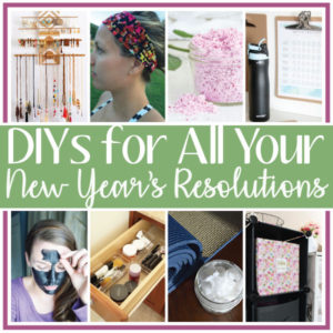 DIYs for Your New Year's Resolutions