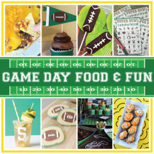 Game Day Food & Fun