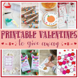 Printable Valentines to Give