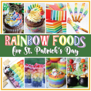 Rainbow Food for St. Patrick's Day