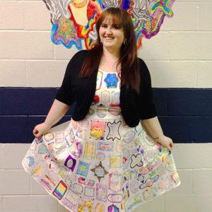 DIY Doodle Dress