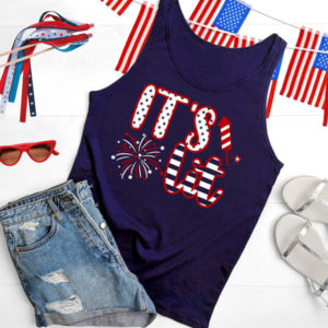 """""""It's Lit"""" Patriotic Party Shirt 